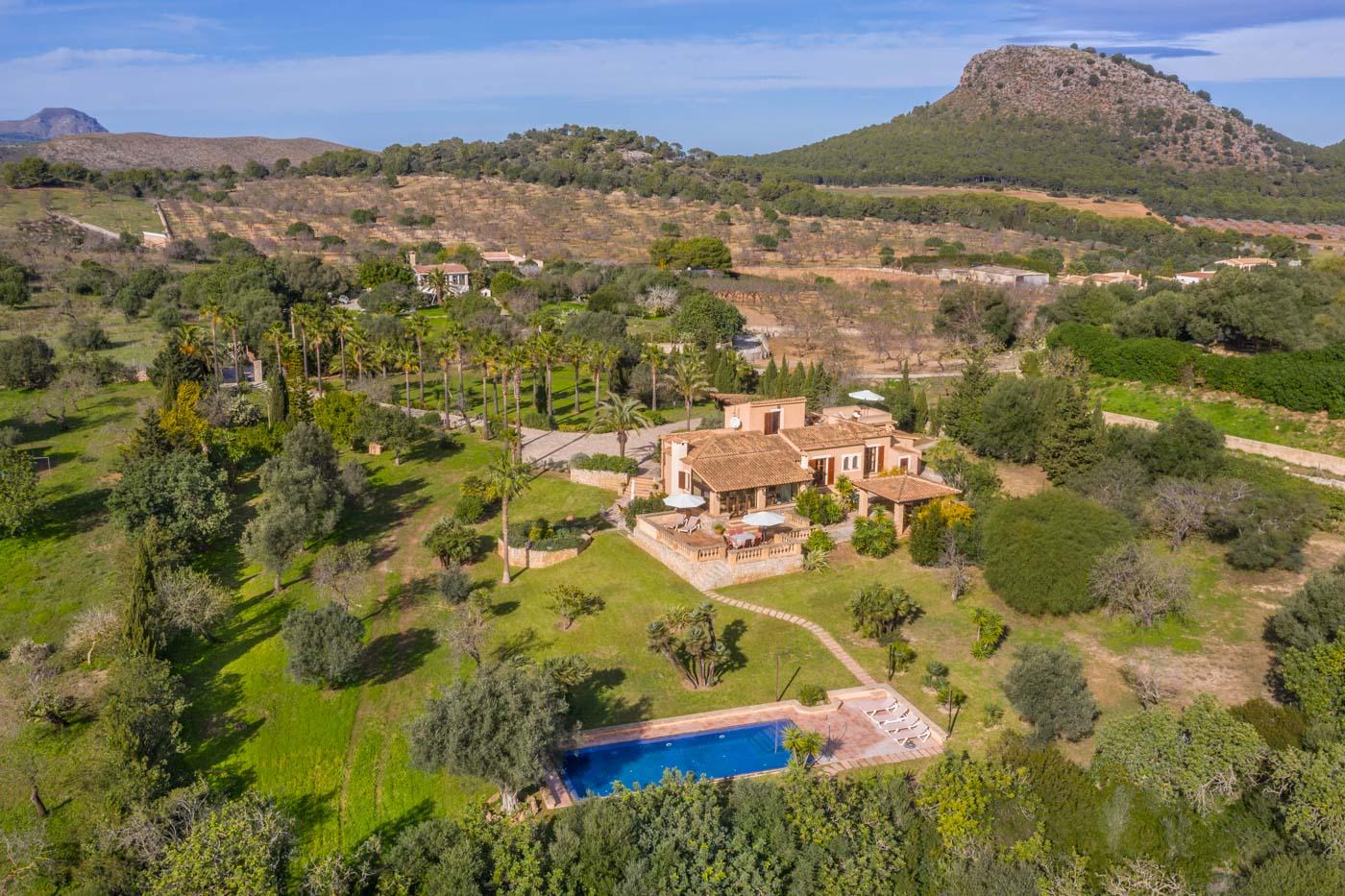 Cala Ratjada – Meerblick-Anwesen mit Ferienvermietungslizenz in Traumlage