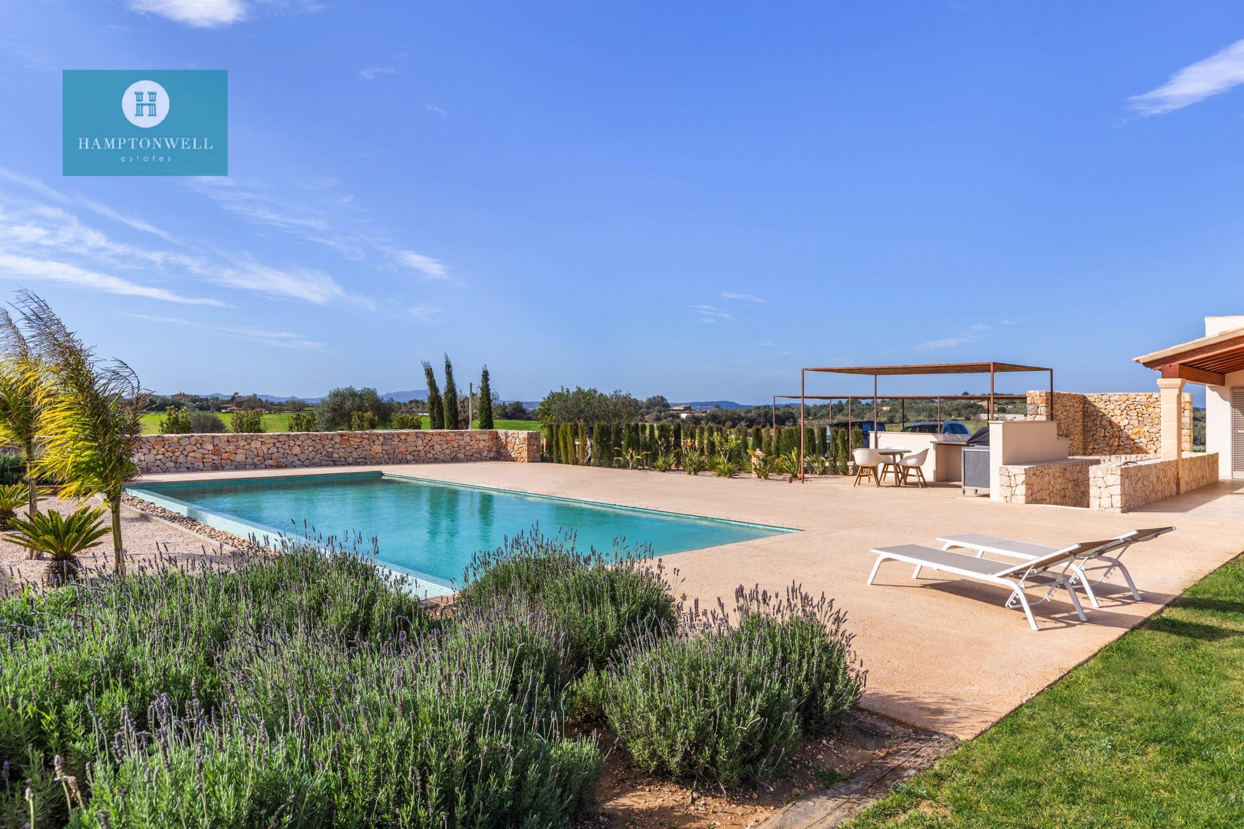 Exklusive Finca mit fantastischem Panoramablick nahe Rafa Nadal Sports Center